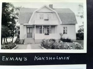 Aunt Florence's Kaxsholman