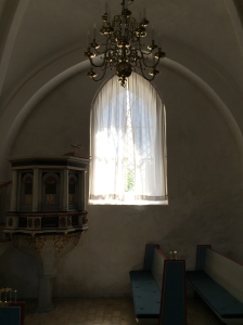 Inside Svallerup Church